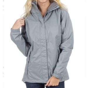 Gray Lauren James Preptec Rain Jacket